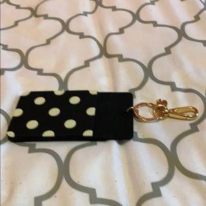 Kate spade badge holder